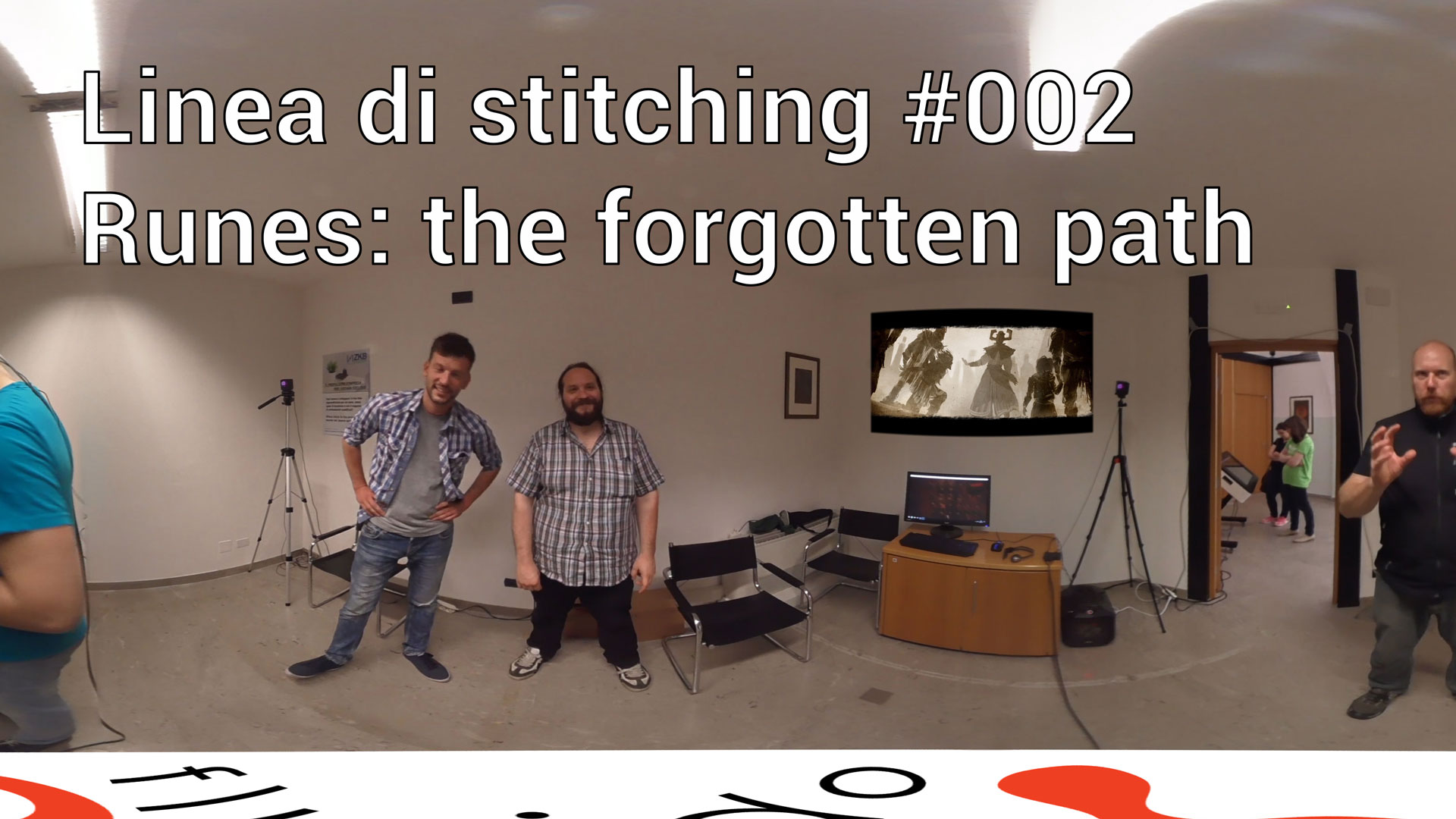 Linea di stitching 002 - Runes: the forgotten path