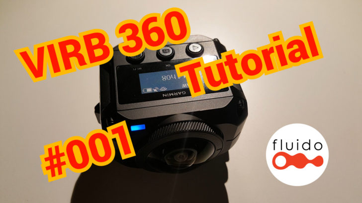 Garmin VIRB 360 tutorial