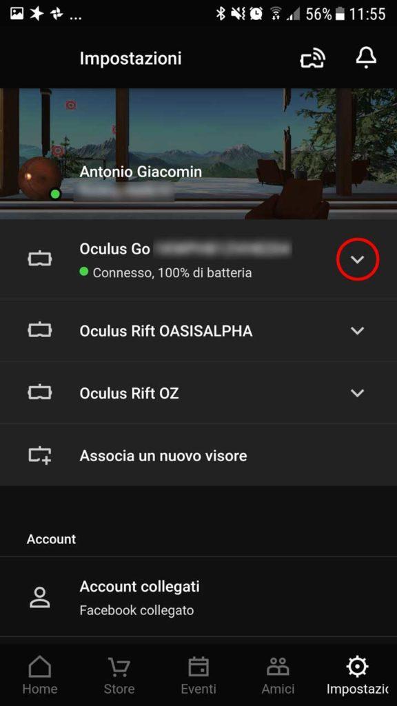 Come fare un trasferimento locale (sideload) su Oculus Go